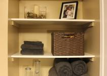 Decor Diy Organizing Open Shelving Bathroom