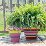 Decorate Flower Pot Fabric
