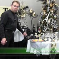 Decorate New Years Party Table Trees Trends