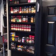 Decorating Immaculate Spice Racks Cabinets Storage