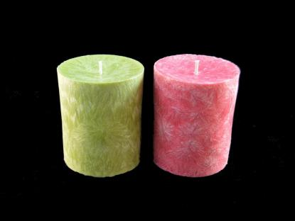 Decorative Candle Scented Pillar Palm Wax
