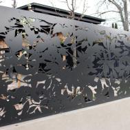 Decorative Garden Fence Panels Laser Cut Metal Art