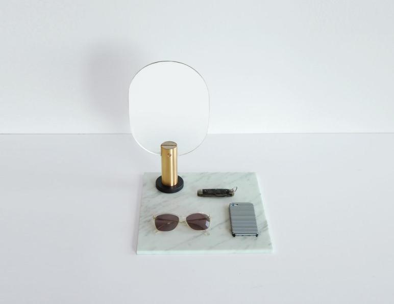 Design Trend Small Geo Mirrors