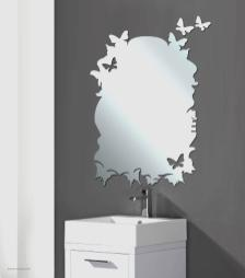 Designer Mirrors Walls Unique Modern Butterfly Wall
