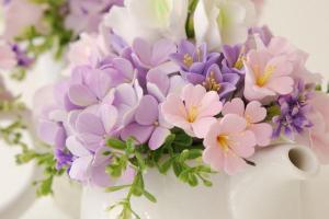 Designs Bridal Shower Tea Centerpieces