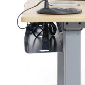Desk Cable Management Great Useful Stuff 2sided