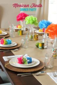Dinner Party Ideas Mexican Fiesta Mirabelle