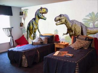 Dinosaur Themed Bedroom Accessories Makeover