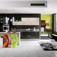 Dise Cocinas Modernas Estilo Arte Pop Construye