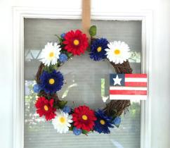 Diy 4th July Wreath Under Riss Home Design