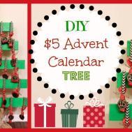 Diy Advent Calendar Tree Missjenfabulous