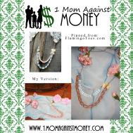 Diy Anthropologie Inspired Necklace Mom Against Money