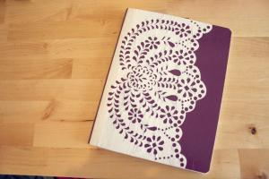 Diy Anthropologie Journal Amanda Dorough Beautiful