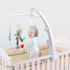 Diy Baby Crib Mobile Bed Bell Holder Arm Bracket