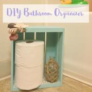 Diy Bathroom Organizer Toilet Paper Holder Simply