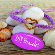 Diy Bracelet Making Tutorial String