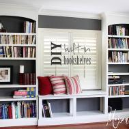 Diy Built Bookshelves Maison Pax