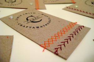 Diy Business Cards Think Crafts Createforless