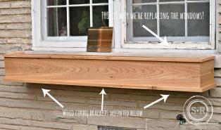 Diy Cedar Window Boxes Craftbnb