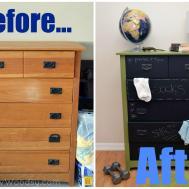 Diy Chalkboard Furniture Kids Home Design Elements