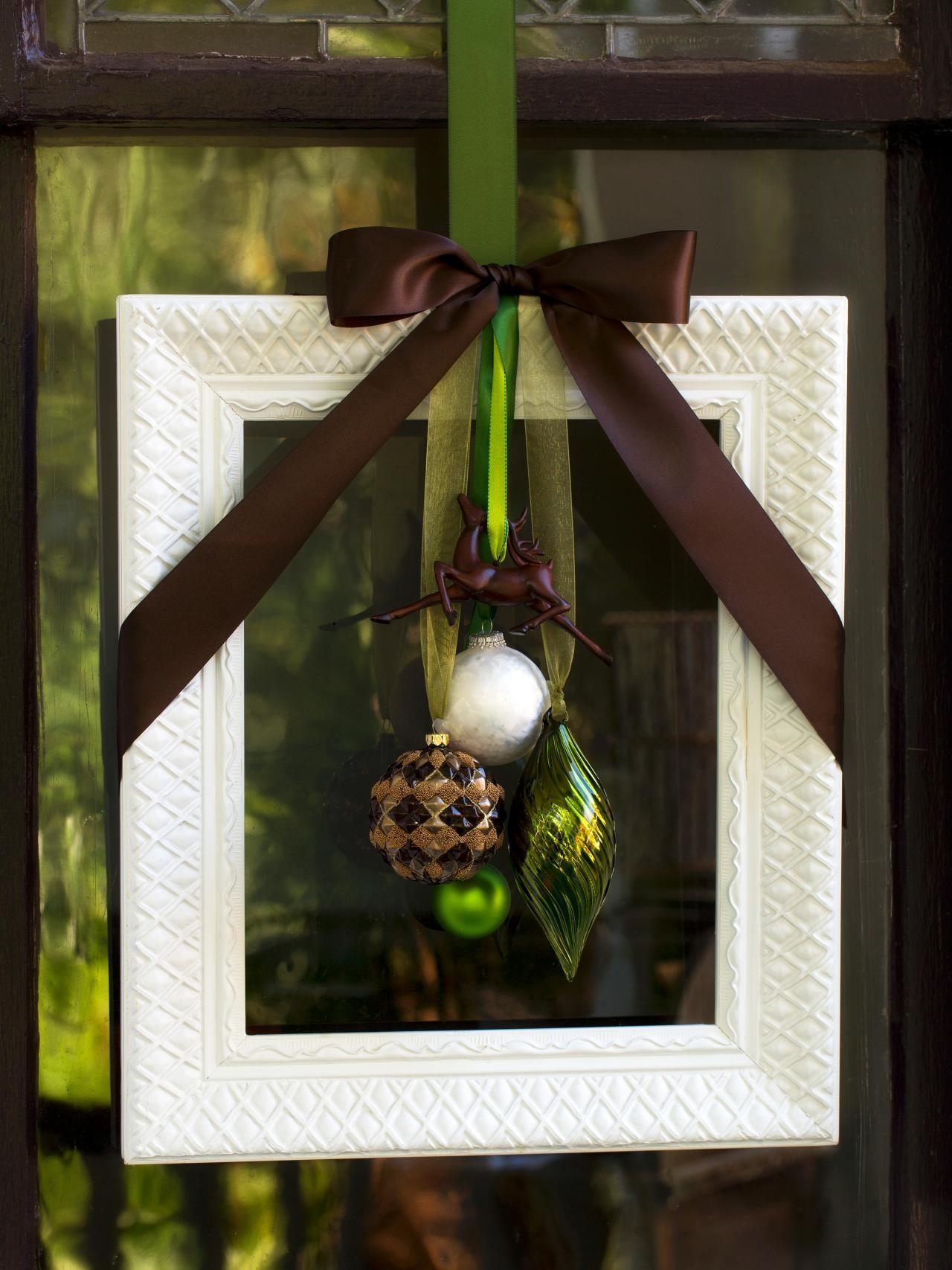 Diy Christmas Door Decorations Easy Crafts Homemade