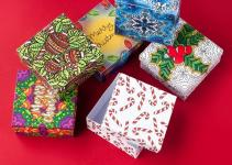 Diy Christmas Gift Boxes Pack Printable Paper