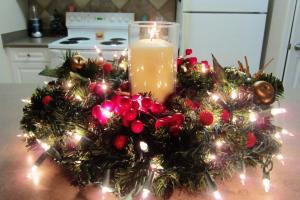 Diy Christmas Holiday Centerpiece