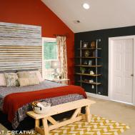 Diy Corrugated Metal Headboard East Coast Creative Blog
