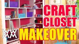 Diy Craft Closet Organizer Shelving System