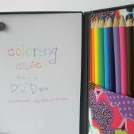 Diy Craft Hack Turn Dvd Cases Into Kids Travel Coloring