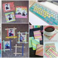 Diy Creative Washi Tape Crafts Lively Experience