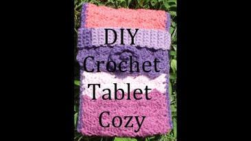 Diy Crochet Tablet Cozy Cover Sleeve Crafts