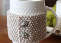 Diy Cup Cozy Setting Four