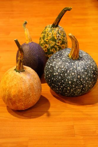 Diy Decoupage Pumpkin Centerpieces Rustic Wedding Chic