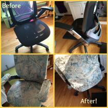 Diy Desk Chair Slip Cover Honesty Time