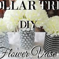 Diy Dollar Tree Bling Flower Vases Decor Petalisbless