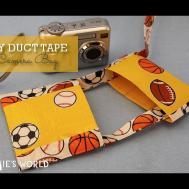 Diy Duct Tape Camera Bag Sophie World