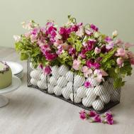 Diy Easter Centerpiece Featuring Our Wire Bag Baskets