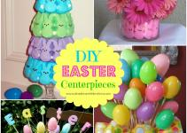 Diy Easter Centerpieces Zebra Celebrations