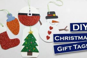 Diy Easy Christmas Foam Sheet Craft Gift
