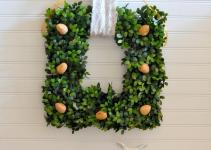 Diy English Boxwood Walnut Christmas Wreath Craft