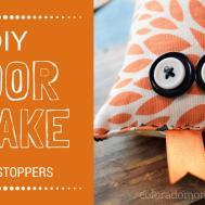 Diy Fabric Door Snake Draft Stopper Coloradomoms