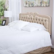 Diy Fabric Headboard Tips Nice Bedroom Decoration