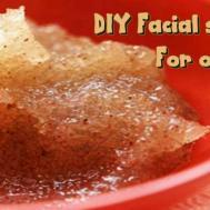 Diy Facial Scrub Oily Skin