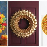 Diy Fall Wreaths Easy Ideas Autumn
