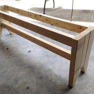 Diy Farmhouse Bench Plans Rogue Engineer