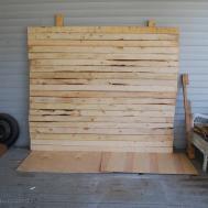 Diy Faux Distressed Wood Backdrop Brepurposed