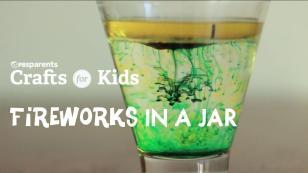 Diy Fireworks Jar Crafts Kids Pbs Parents