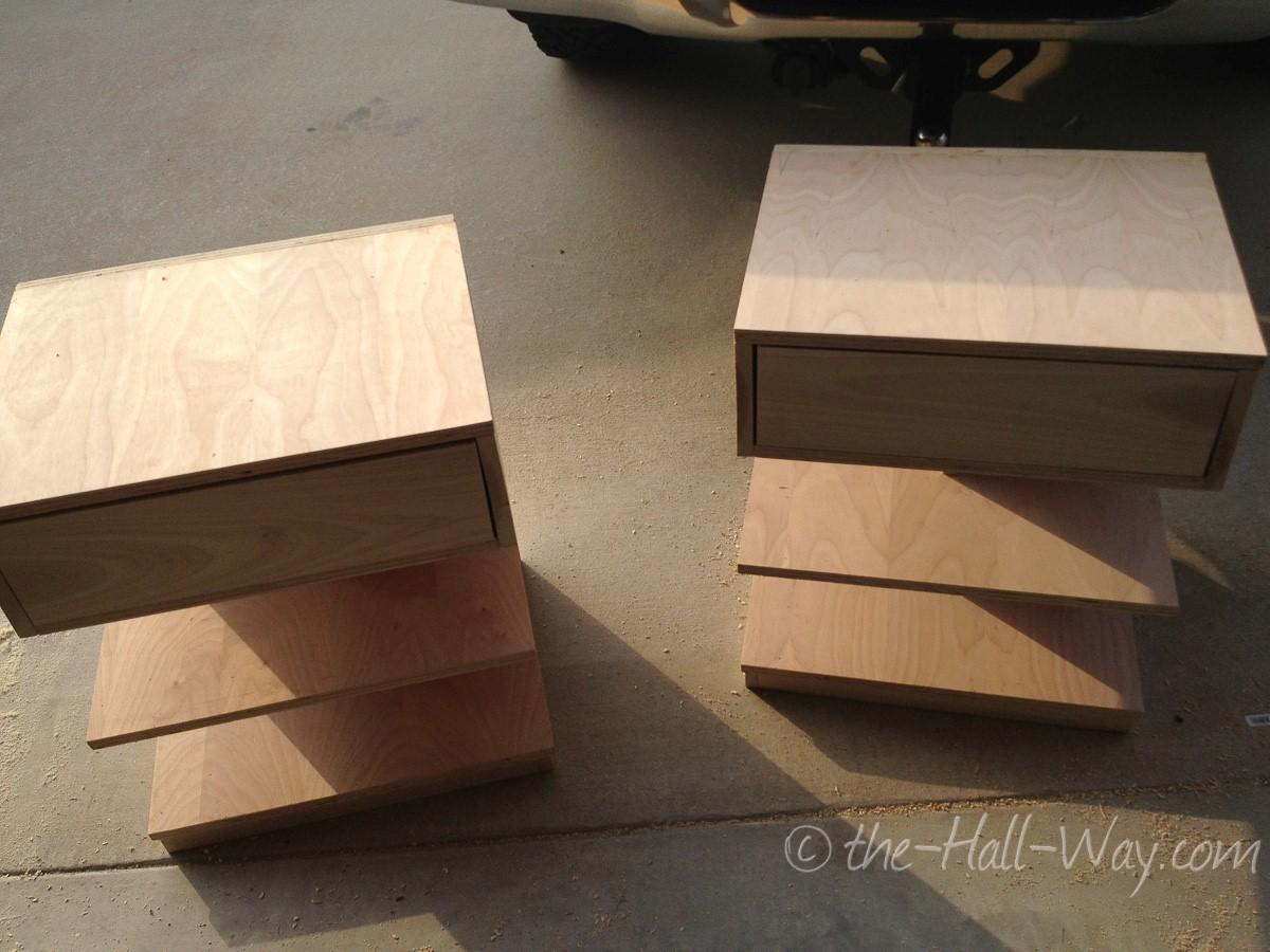 diy floating bedside table lamps ideas
