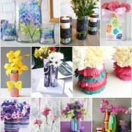 Diy Flower Vases Creative Tutorials Craftionary Autos